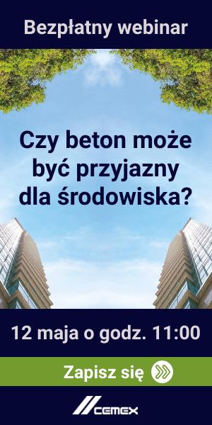 Webinar CEMEX Polska | Czy beton może być przyjazny dla środowiska?