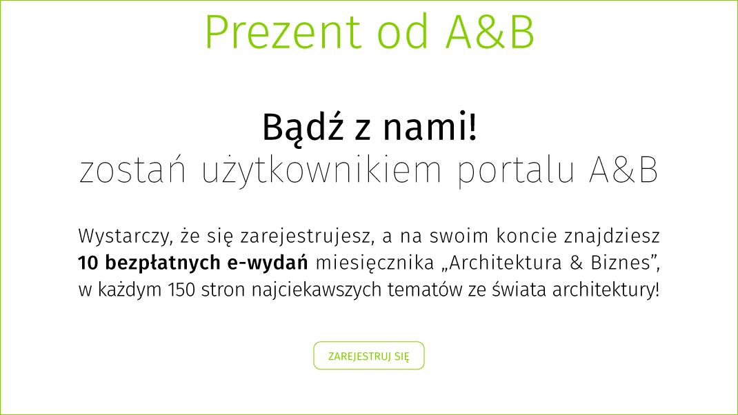Zarejestruj się w portalu A&B i odbierz prezenty