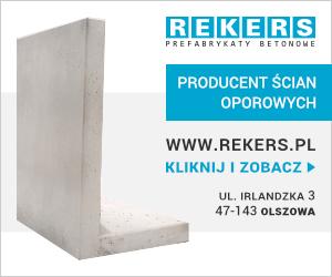 Gotowe elementy, prefabrykaty budowlane i bloki betonowe - REKERS
