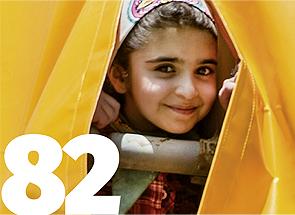 schronisko dla osieroconych dziewcząt w Iranie