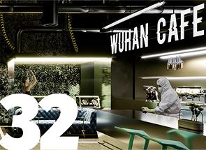 Projekt koncepcyjny Cafe Wuhan i rozmowa z Janem Sikorą z pracowni Sikora Wnętrza Architektura
