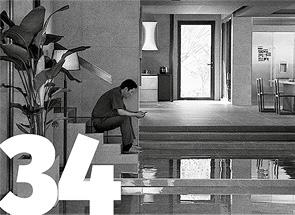 """Architektura i film [34] """"Parasite"""" — architektura jako źródło cierpień Tomasz MALKOWSKI"""