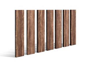 Brama - słupki drewniane